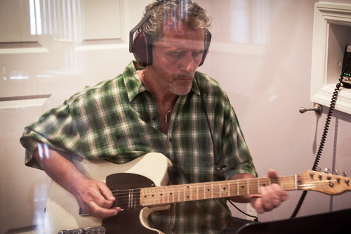 Red Ridge Guitar Recording Session