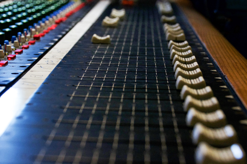 Sound Board Faders
