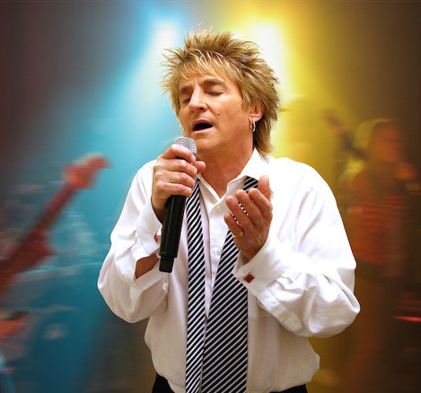 Rob Caudill - Rod Stewart Impersonator