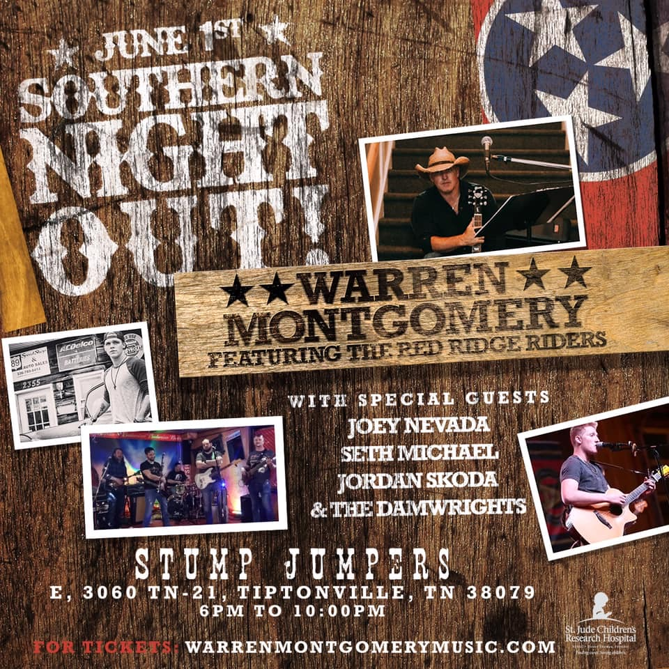 Southern Night Out - Tennessee Country Music Event - June 1st, 2019
